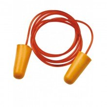 Pack 150 pares de tapones moldeables de espuma detectables con cordón