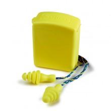 Pack 50 pares de tapones reutilizables con cordón de transporte