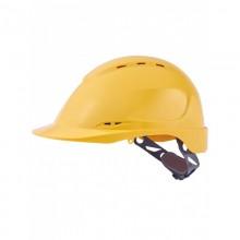Casco de protección industrial con ventilación y rueda