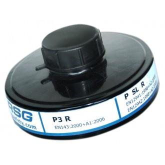 Filtro RSG P3 D R contra partículas, humos, neblinas y microorganismos.