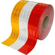 Rollo cinta adhesiva reflectante homologación EC para vehículos (50mm x 50m)