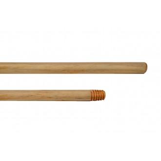 Mango de madera barnizado