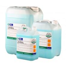 Detergente fregasuelos con ceras con espuma controlada