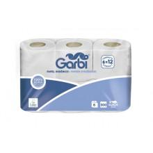 Papel higiénico doméstico de doble capa (pack 6 rollos)