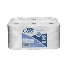 Paper higiènic industrial de doble capa (pack 18 rotlles)