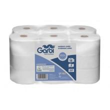 Papel higiénico industrial de doble capa (pack 18 rollos)