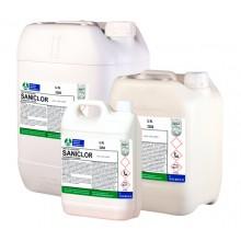 Detergente clorado higienizante