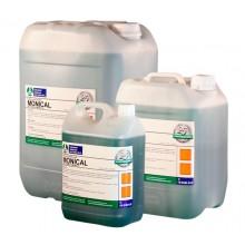 Detergent amoniacal gel