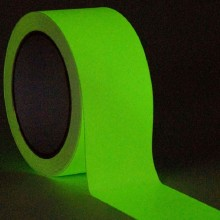 Rotllo de cinta adhesiva fotoluminiscent
