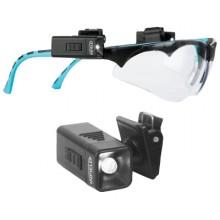 Kit de iluminación para acoplar a las gafas