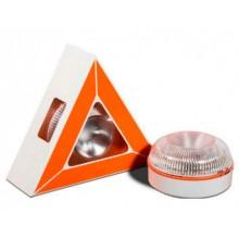 Luz LED de Emergencia para Vehículos V16 Base Magnética