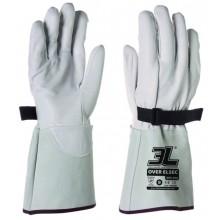 Sobreguante para guantes dieléctricos de látex