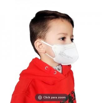 Mascarilla infantil FFP2 para niños