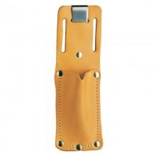 Funda universal de cuero para cuchillas de seguridad