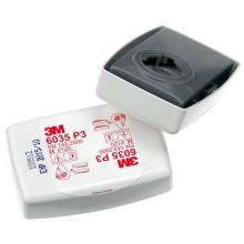 Filtro 3M 6035 encapsulado contra partículas P3