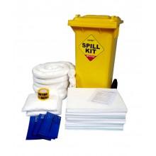 Kit de absorbentes para carretillas y vehículos (20 litros)