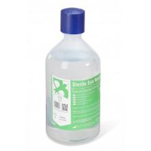 Botella de cloruro sódico para lavado de ojos (500 ml)