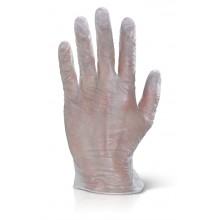 Guante desechable de látex sin polvo (Pack 100 und)